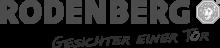 Logo: RODENBERG Türsysteme AG