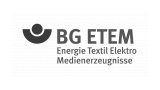 Logo: Berufsgenossenschaft Energie Textil Elektro Medienerzeugnisse